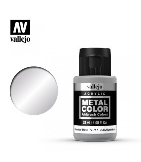 Metal Color 77717 Aluminio Mate 32ml Vallejo