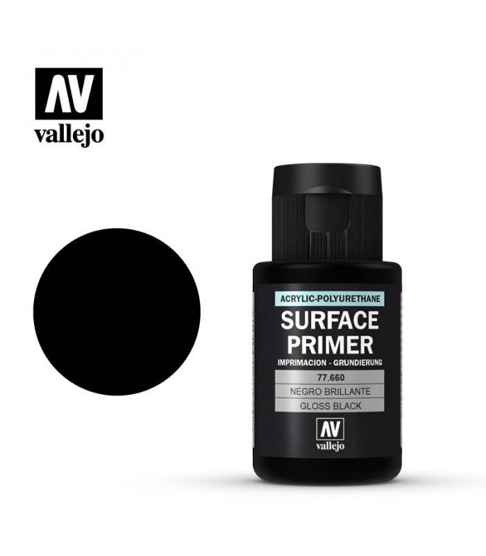 77660 Imprimación Negro Brillante Vallejo 32ml tienda venta online metal color