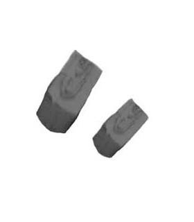 Cuit Piedra Mosaico Negra 150gr 4x6x12mm