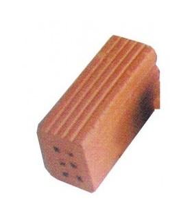 Ganzziegel mit 6 Löchern, 32 x 11 x 16 mm. 1 kg Sack