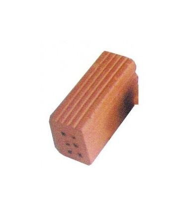 Ladrillo entero de 6 agujeros, 32 x 11 x 16mm. Bolsa 1kg