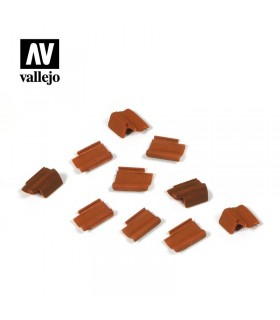 Vallejo Scenics roof tile set