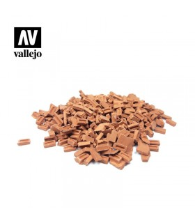 Vallejo Scenics colored brick set