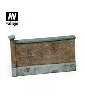 Backsteinmauer Vallejo Scenics