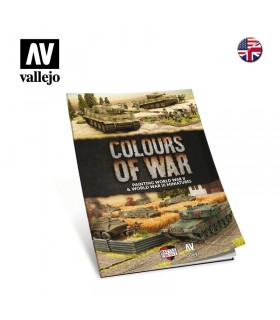 Livro Colors of War Vallejo