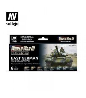 Set WWIII Armor & Infantry Allemagne de l'Est Vallejo 70224