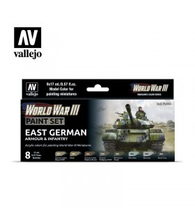 Set WWIII East German Armour & Infantry Vallejo 70224