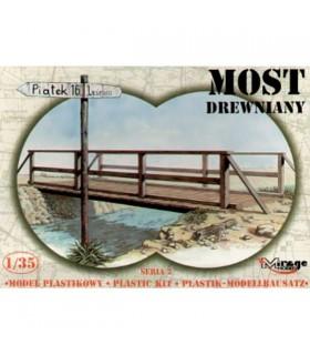 Mirage Wooden Bridge 1/35 35220