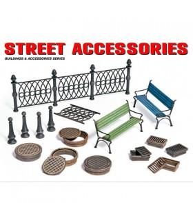 Accessoires MiniArt Street au 1/35 35530