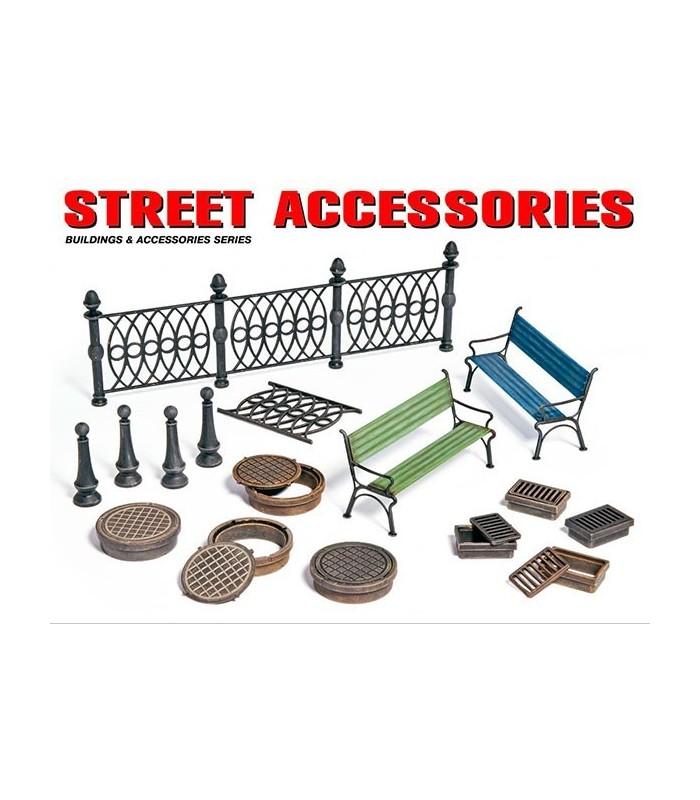 Acessórios MiniArt Street Acc. 1/35 35530