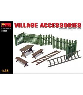Acessórios MiniArt Village Acc. 1/35 35539