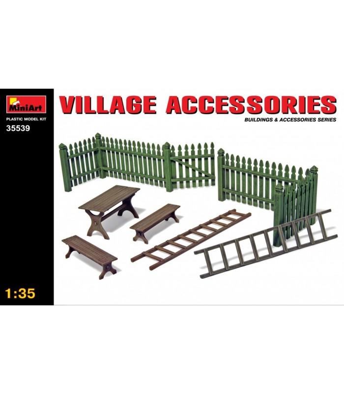 MiniArt Accesorios Village Acc. 1/35 35539