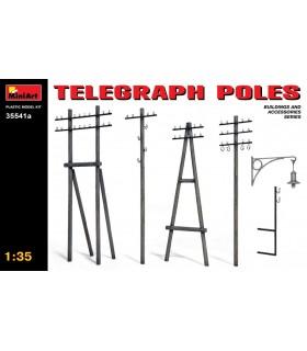 Accessoires pour poteaux télégraphiques MiniArt 1/35 35541a