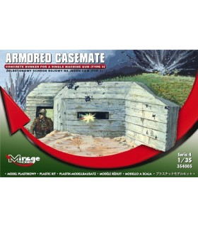 Mirage Concret Bunker para Single MG 1/35