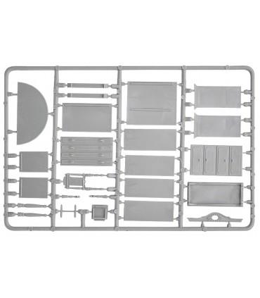 Conjunto de acessórios para móveis MiniArt, escala 1/35
