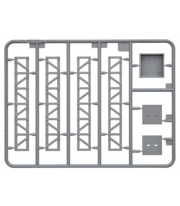 MiniArt Acc.s Metal Telegraph Poles scale, 1/35 scale