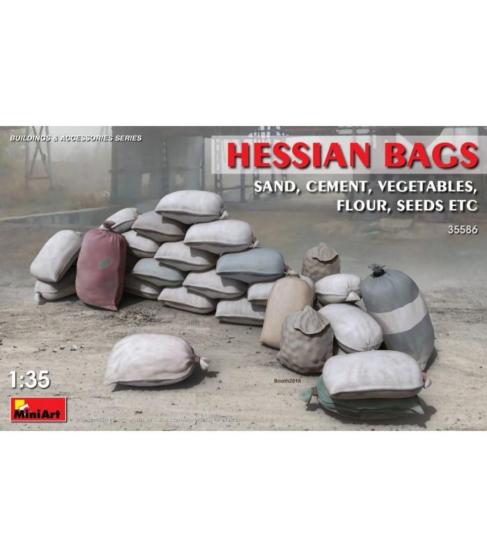 MiniArt Accesorios Hessian Bags 1/35 35586