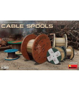 MiniArt Accesorios Cable Spools 1/35 35583