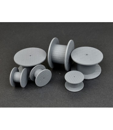 MiniArt Accesorios Cable Spools 1/35 35583
