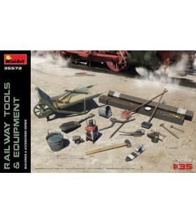 MiniArt Acc Rail Tools + Ausrüstung 1/35 35572