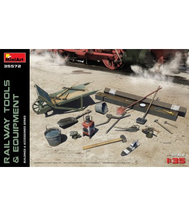 MiniArt Acc Rail Tools + Equipment 1/35 35572