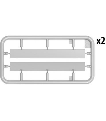 Ferramentas MiniArt Acc Rail + Equipamento 1/35 35572