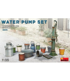 MiniArt accesorios Water Pump Set 1/35