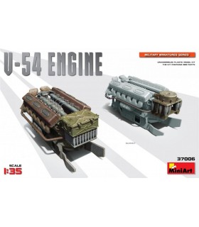 MiniArt Accessory V-54 Engine Echelle: 1/35