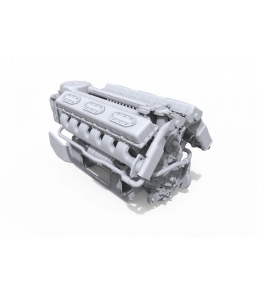 MiniArt Accesorio V-54 Engine Escala: 1/35