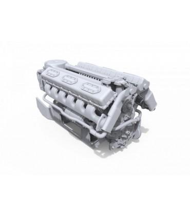 Accessorio MiniArt Scala motore V-54: 1/35