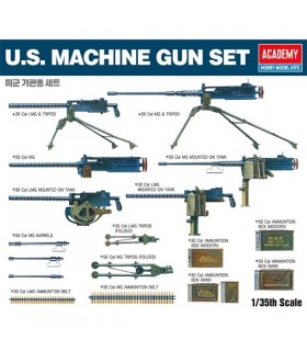 U.S. Machine Gun Set 1/35 Academy