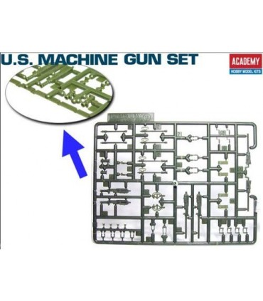 Conjunto de metralhadoras dos EUA 1/35 Academy