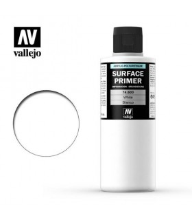 74600 Vallejo White Acrylic Primer 200ml.