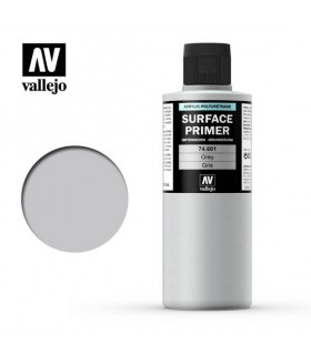 74601 Vallejo Acrylic Gray Primer 200ml