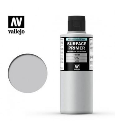 74601 Primer Vallejo Acrílico Cinza 200ml