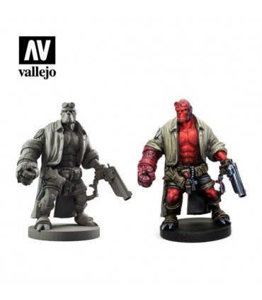Set Vallejo Model Color 8 u. (17 ml.) Hellboy the Board Game
