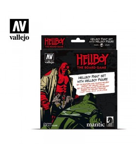Set Vallejo Model Color 8 u. (17 ml.) Hellboy il gioco da tavolo