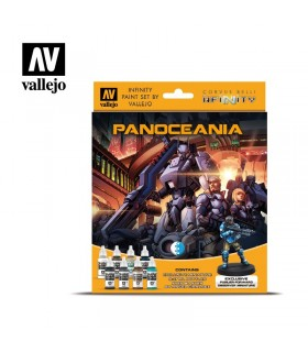 Set Vallejo Model Color 8 u. (17 ml.) Panoceania