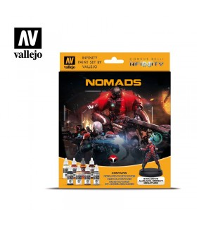 Set Vallejo Model Color 8 u. (17 ml.) Nomades Infinity