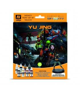 Conjunto Vallejo Modelo Cor 8 u. (17 ml.) Infinito Yu Jing