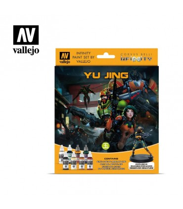 Set Vallejo Model Color 8 u. (17 ml.) Infinity Yu Jing