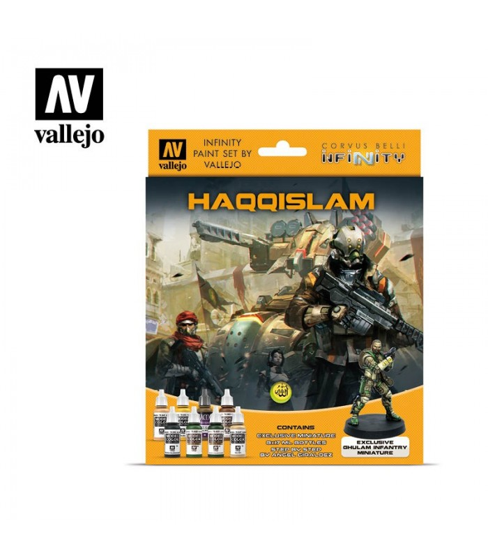 Set Vallejo Model Color 8 u. (17 ml.) Infinity Haqqislam