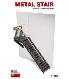 Accessoires MiniArt Escalier en métal. Échelle: 1/35