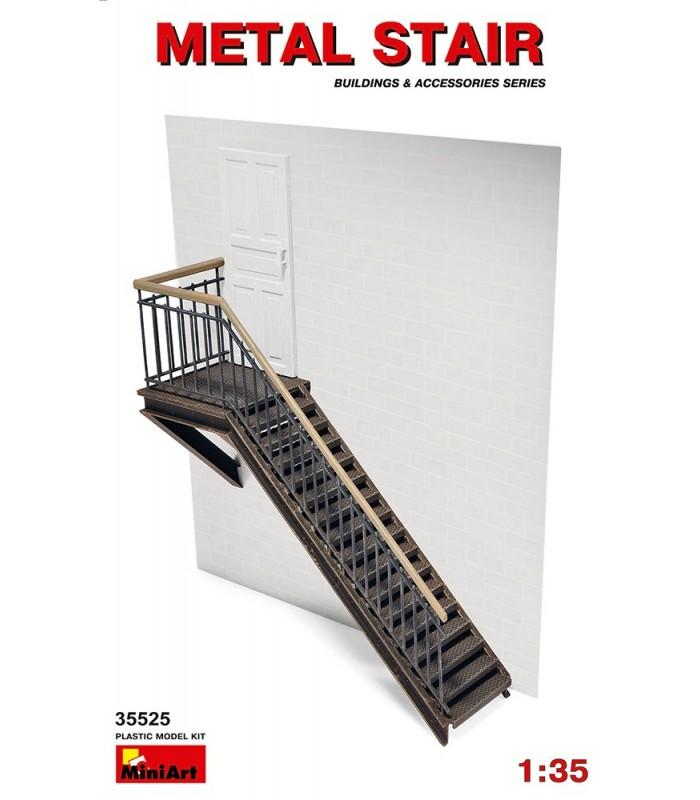 Scala in metallo per accessori MiniArt. Scala: 1/35