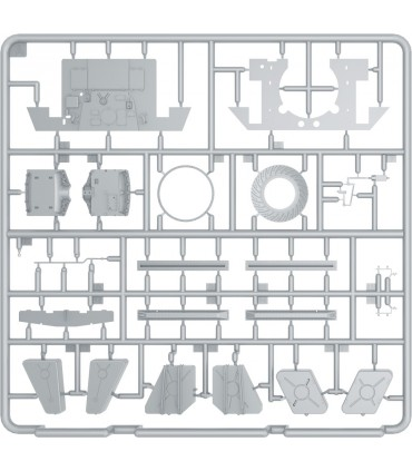 MiniArt Accesorio T-34 EngineV-2-34 + Trasmissione 1/35