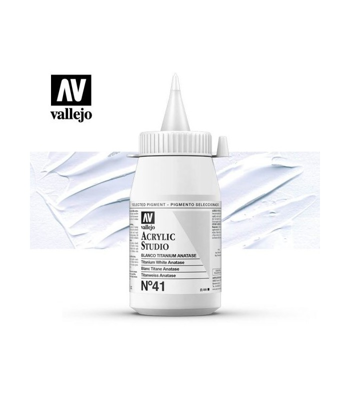 Acrilico Studio Vallejo 500 ml.