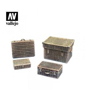 Valises en osier Vallejo Scenics SC227 1/35