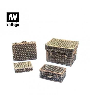 Malas de vime Vallejo Scenics SC227 1/35