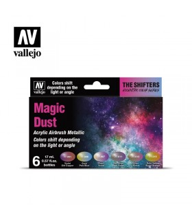 Set Vallejo Colorshift 6 u. (17 ml.) Magic Dust