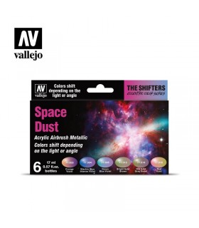 Set Vallejo Colorshift 6 u. (17 ml.) Space Dust